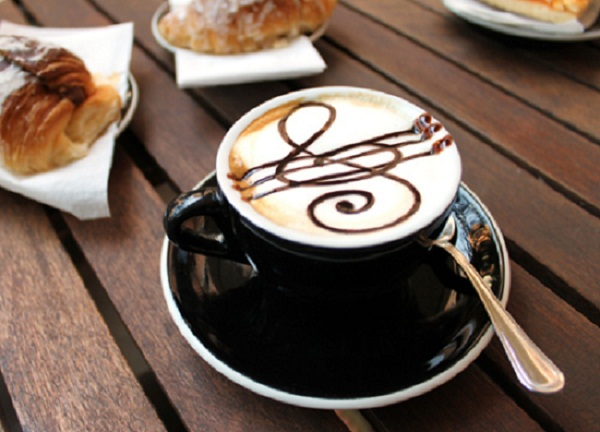black and white choco