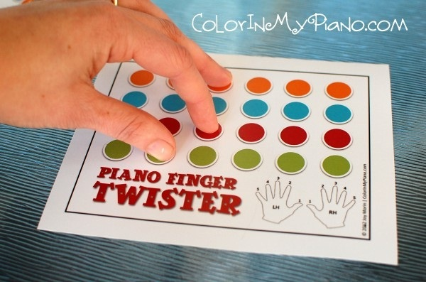 Piano finger twister